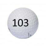 Image of Golf Ball #103