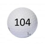 Image of Golf Ball #104