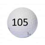 Image of Golf Ball #105