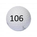 Image of Golf Ball #106