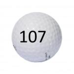 Image of Golf Ball #107