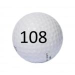 Image of Golf Ball #108