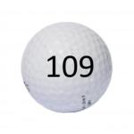 Image of Golf Ball #109