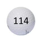 Image of Golf Ball #114