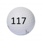 Image of Golf Ball #117
