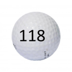Image of Golf Ball #118