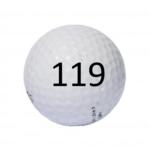 Image of Golf Ball #119
