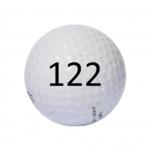 Image of Golf Ball #122