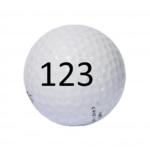 Image of Golf Ball #123
