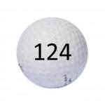 Image of Golf Ball #124