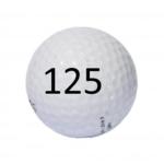 Image of Golf Ball #125