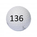 Image of Golf Ball #136