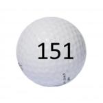 Image of Golf Ball #151