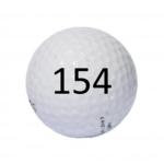 Image of Golf Ball #154