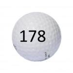 Image of Golf Ball #178
