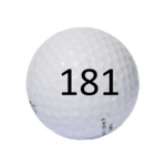Image of Golf Ball #181
