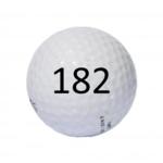 Image of Golf Ball #182