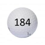 Image of Golf Ball #184