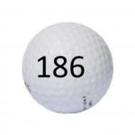 Image of Golf Ball #186