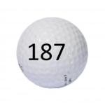 Image of Golf Ball #187