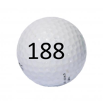 Image of Golf Ball #188