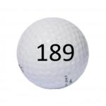 Image of Golf Ball #189