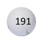 Image of Golf Ball #191