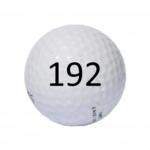 Image of Golf Ball #192