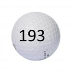 Image of Golf Ball #193