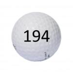 Image of Golf Ball #194