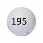 Image of Golf Ball #195