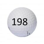 Image of Golf Ball #198