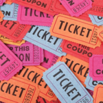 Image of Three 50/50 Raffle Tickets