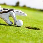 Image of Golfer Gimme Putt