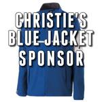 Image of Christie's Blue Jacket Sponsor