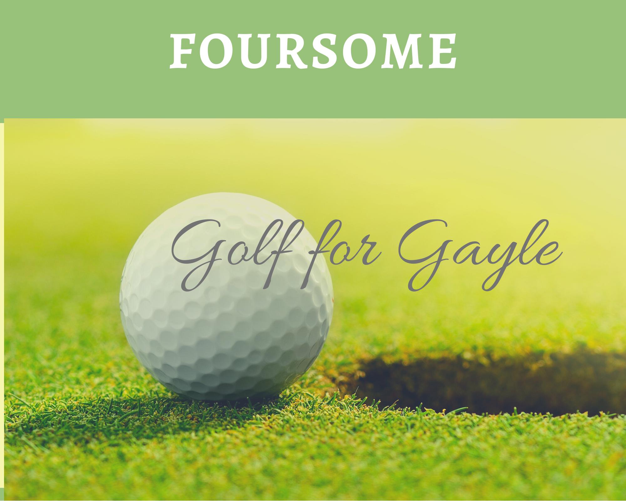 Gayle Newgren Charity Golf Tournament 2021 - Default Image of Foursome