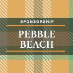 Image of Pebble Beach Foursome Sponsor