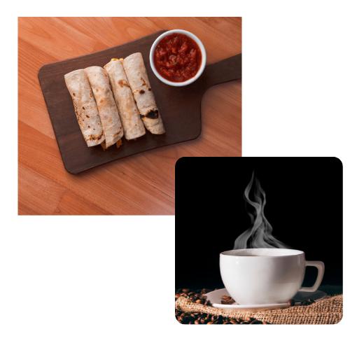 Warrior Golf Day - Default Image of Burrito Sponsor & Coffee Bar
