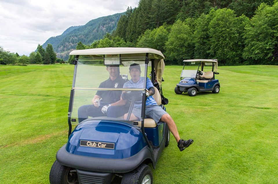 2019 Canadian Entertainment Charity Golf Classic - Vancouver - Default Image of Golf Carts Sponsorship