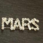 Image of Mars Pin