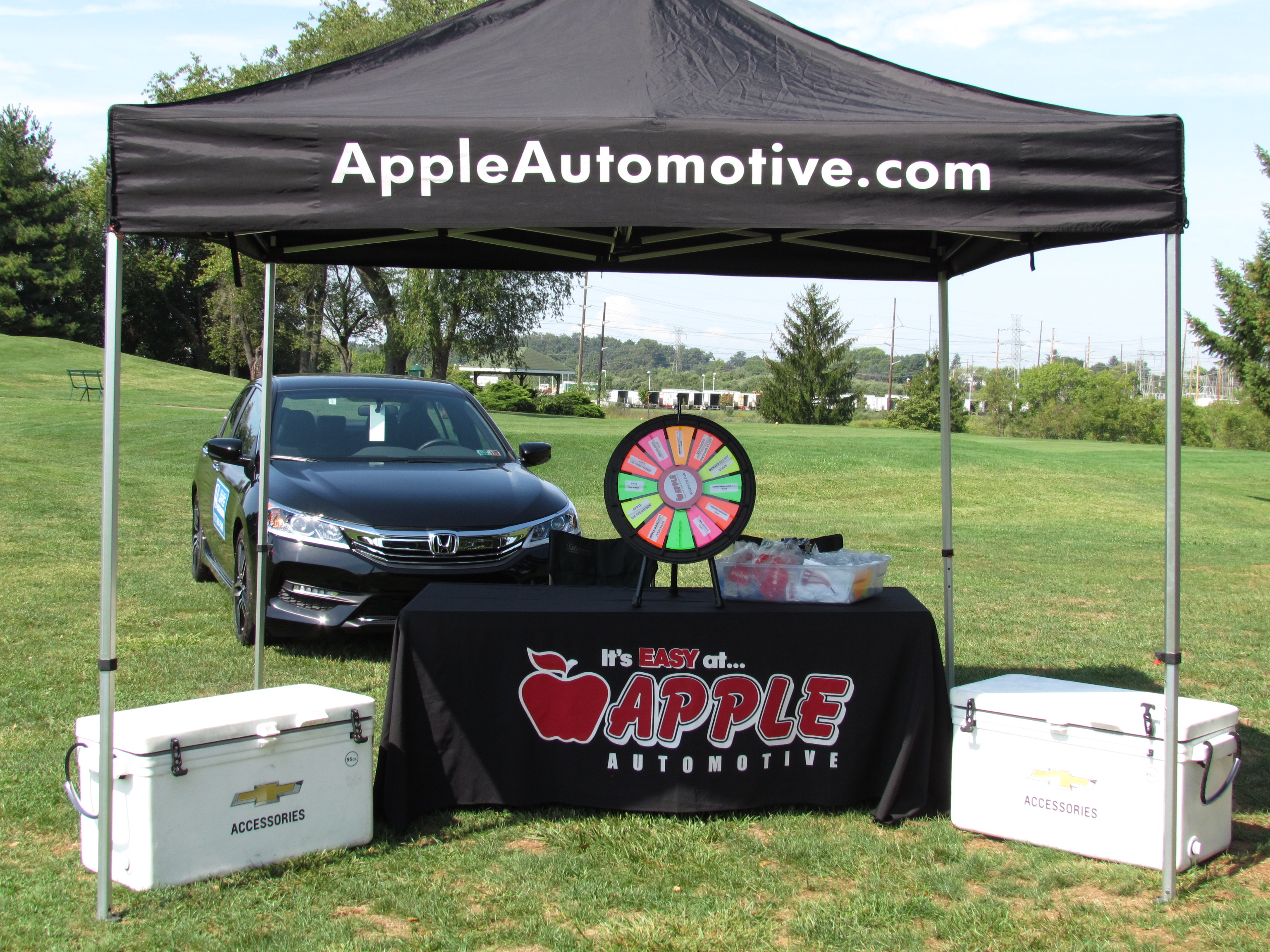 Servants 11th Annual Golf Outing - Default Image of Business Tent on the Tee