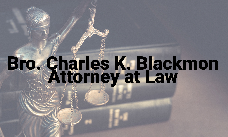 Attorney Charles Blackmon