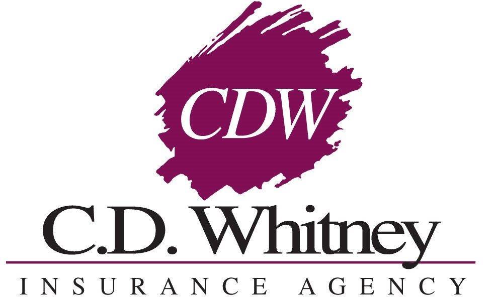 Gold - C. D. Whitney Insurance Agency - Logo