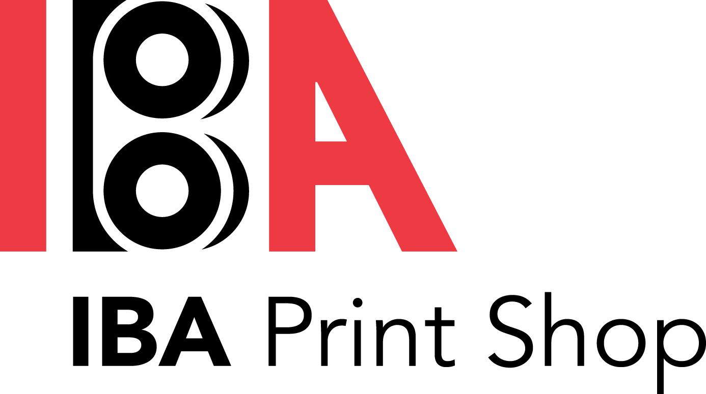 Silver - IBA Print Shop - Logo