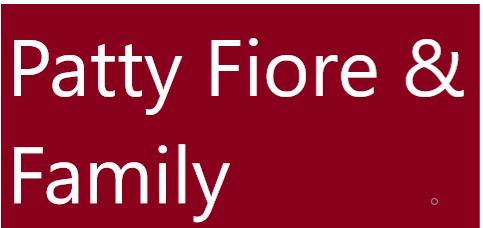 Hole Sponsor - Patty Fiore and family - Logo