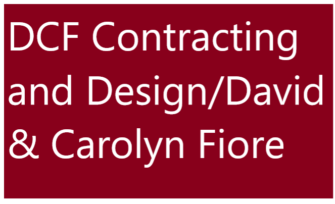 Hole Sponsor - DCF Contracting/David and Carolyn Fiore - Logo