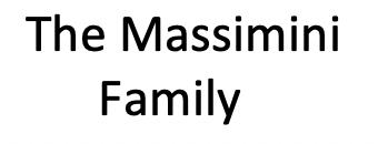 The Massimini Family