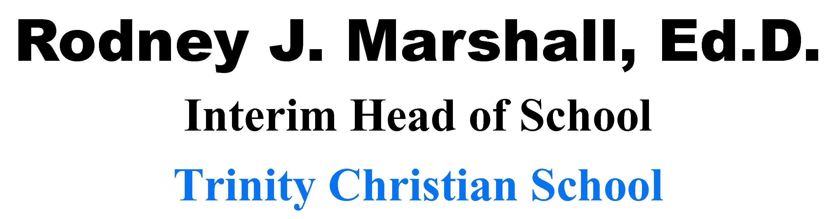 Rodney Marshall, Ed.D.
