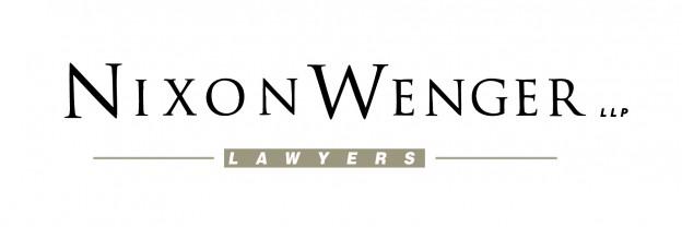 Gold Sponsor - Nixon Wenger LLP. - Logo