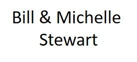 Hole Sponsors - Bill & Michelle Stewart - Logo